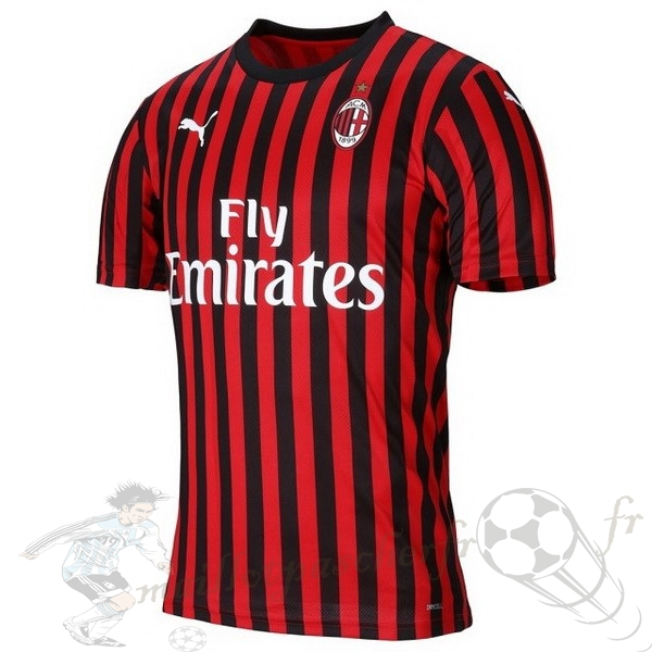 Equipement Maillot Foot PUMA Thailande Domicile Maillot AC Milan 2019 2020 Rouge