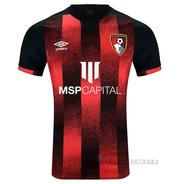 Equipement Maillot Foot umbro Domicile Maillot Bournemouth 2020 2021 Rouge