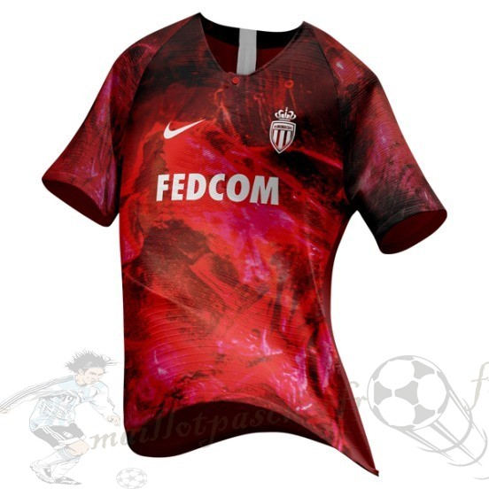 Equipement Maillot Foot Nike Ea Sport Maillot As Monaco 2018 2019 Rouge