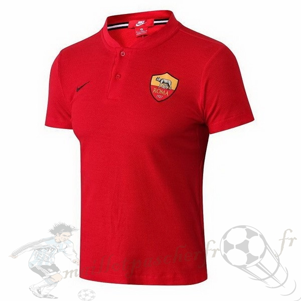Equipement Maillot Foot Nike Polo AS Roma 2018 2019 Rouge