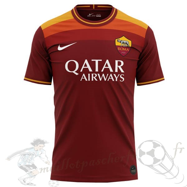 Equipement Maillot Foot Nike Concept Domicile Maillot Roma 2020 2021 Orange