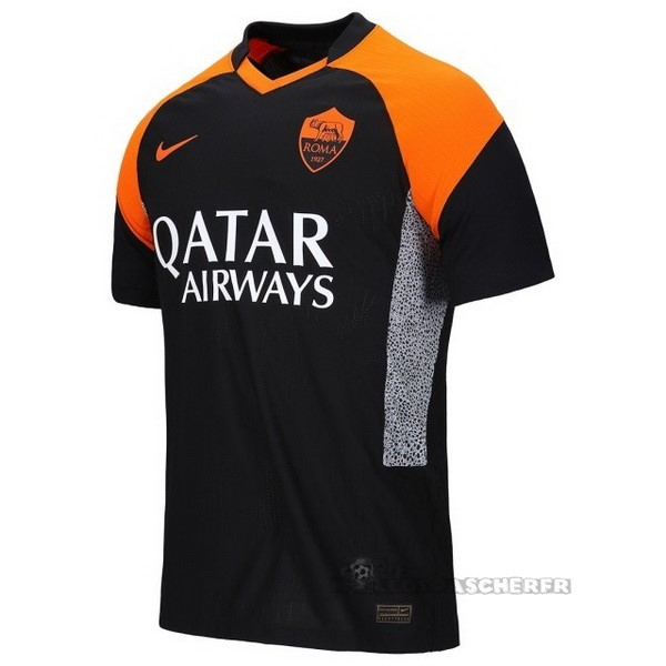 Equipement Maillot Foot Nike Thailande Third Maillot As Roma 2020 2021 Noir