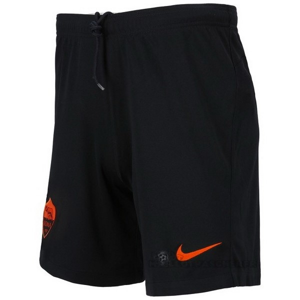 Equipement Maillot Foot Nike Third Pantalon As Roma 2020 2021 Noir