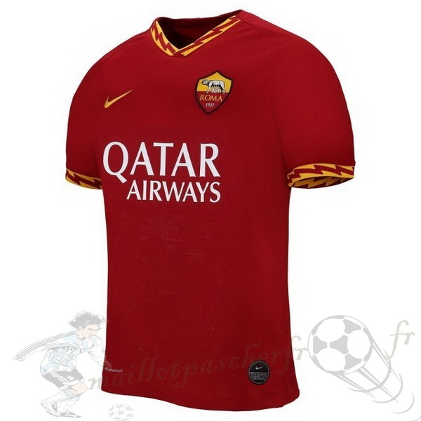 Equipement Maillot Foot Nike Domicile Maillot As Roma 2019 2020 Rouge