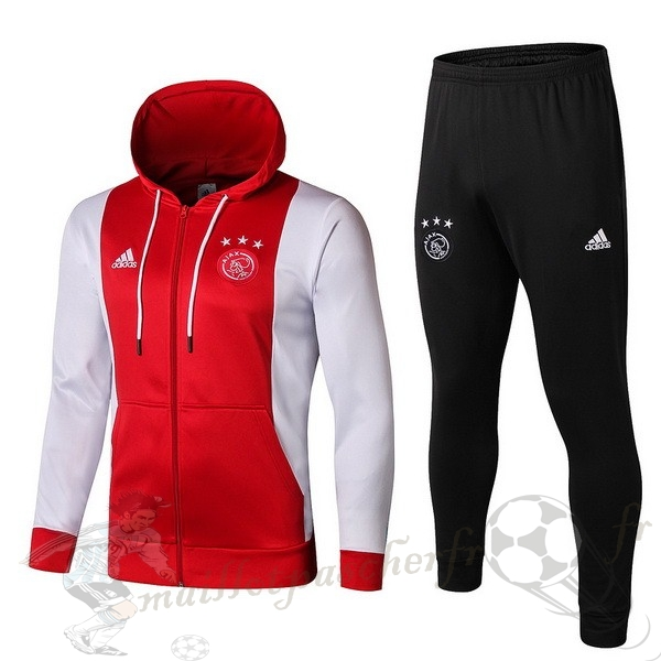 Equipement Maillot Foot adidas Survêtements Ajax 2019 2020 Rouge