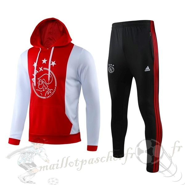 Equipement Maillot Foot adidas Survêtements Ajax 2019 2020 Rouge Blanc