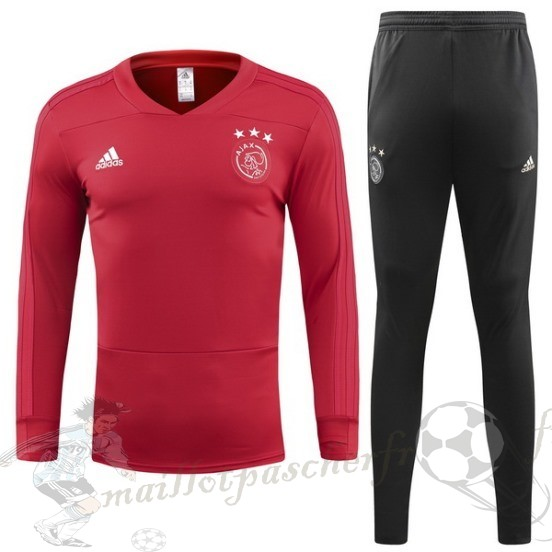 Equipement Maillot Foot Adidas Survêtements Ajax 2018 2019 Rouge