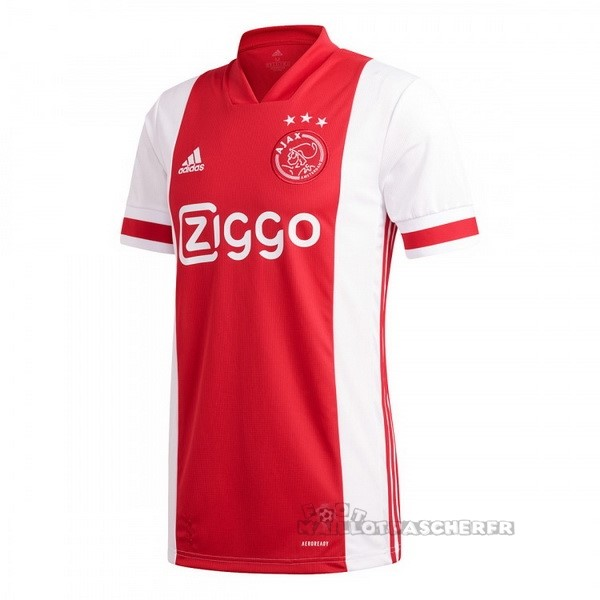 Equipement Maillot Foot adidas Thailande Domicile Maillot Ajax 2020 2021 Rouge