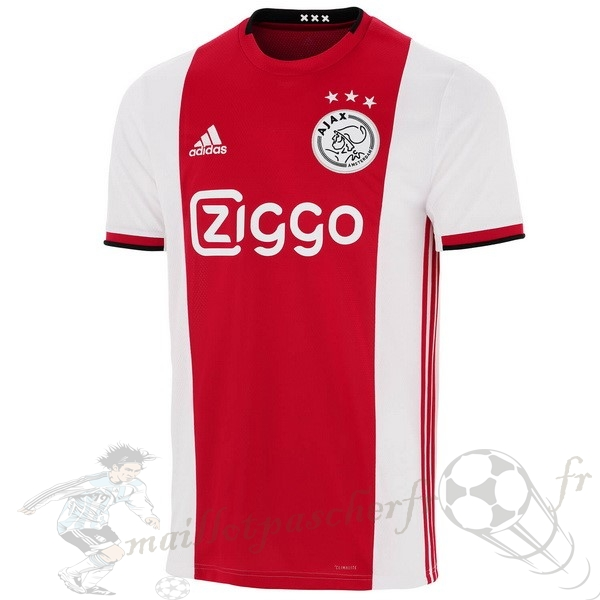 Equipement Maillot Foot adidas Thailande Domicile Maillot Ajax 2019 2020 Rouge