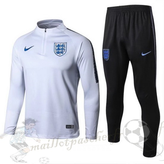 Equipement Maillot Foot Nike Survêtements Enfant Angleterre 2018 Blanc