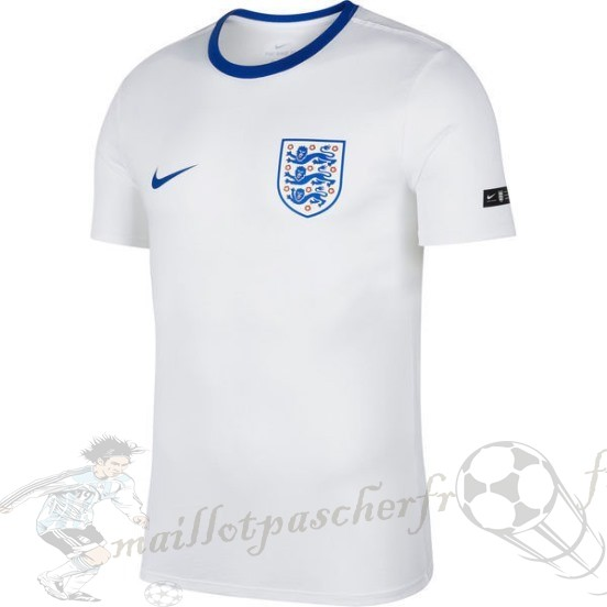 Equipement Maillot Foot Nike Entrainement Angleterre 2018 Blanc Bleu