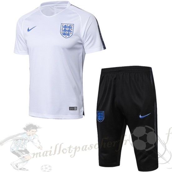 Equipement Maillot Foot Nike Entrainement Ensemble Complet Angleterre 2018 Blanc