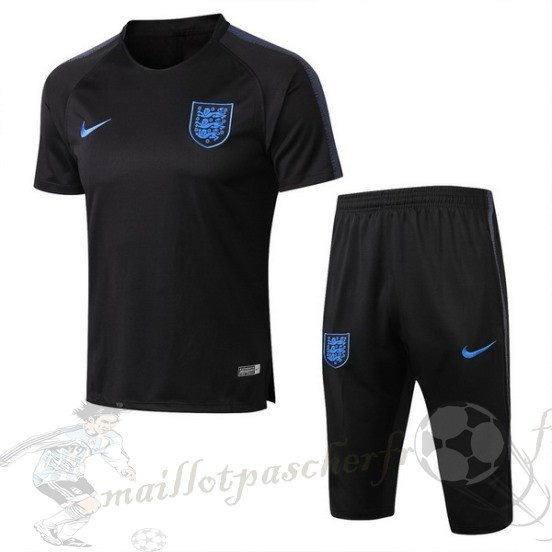 Equipement Maillot Foot Nike Entrainement Ensemble Complet Angleterre 2018 Noir