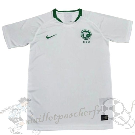 Equipement Maillot Foot Nike Domicile Maillot Arabie Saoudite 2018 Blanc