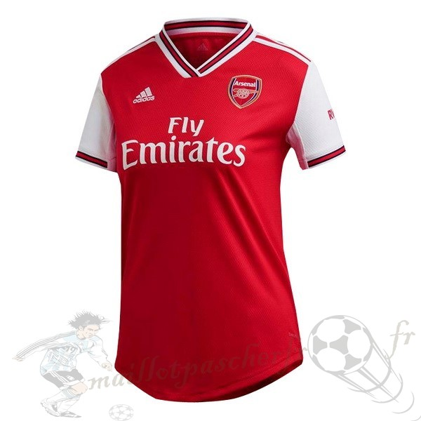 Equipement Maillot Foot Adidas Domicile Maillot Femme Arsenal 2019 2020 Rouge