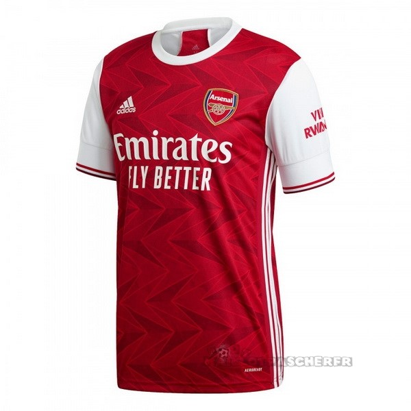 Equipement Maillot Foot adidas Thailande Domicile Maillot Arsenal 2020 2021 Rouge