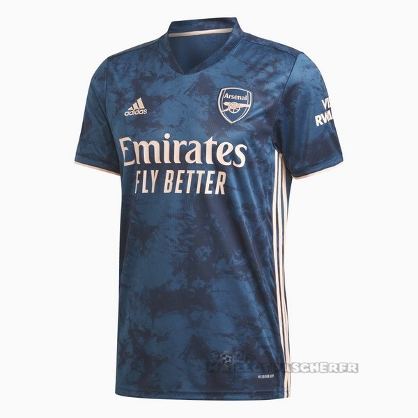 Equipement Maillot Foot adidas Third Maillot Arsenal 2020 2021 Bleu