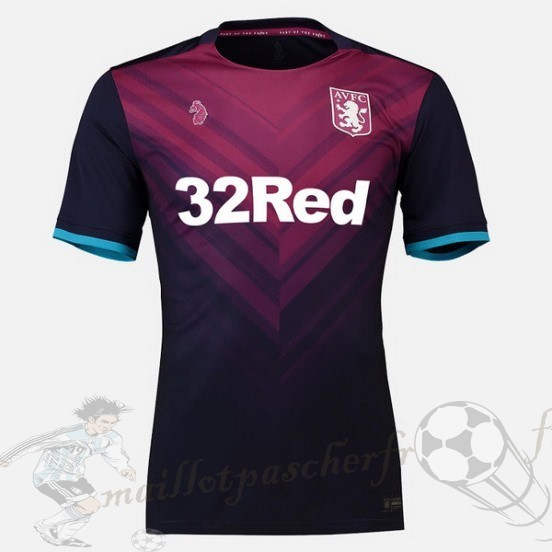 Equipement Maillot Foot Luke Third Maillot Aston Villa 2018 2019 Rouge