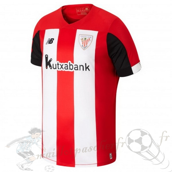 Equipement Maillot Foot New Balance Domicile Maillot Athletic Bilbao 2019 2020 Rouge Blanc