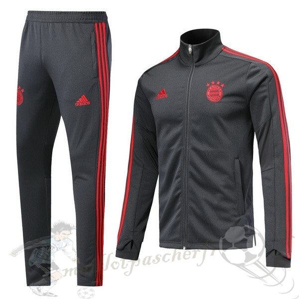 Equipement Maillot Foot Adidas Survêtements Bayern Munich 2018 2019 Gris Rouge