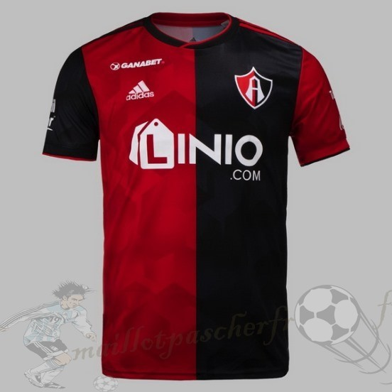 Equipement Maillot Foot Adidas Domicile Maillot Cf Atlas Fc 2018 2019 Rouge