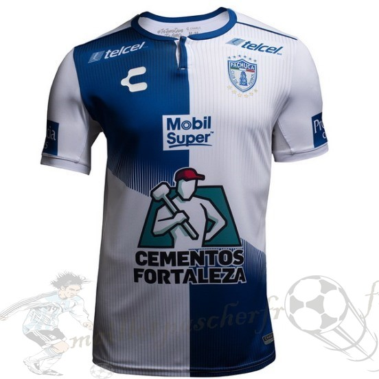 Equipement Maillot Foot Tenis Charly Domicile Maillot Pachuca 2018 2019 Bleu Blanc