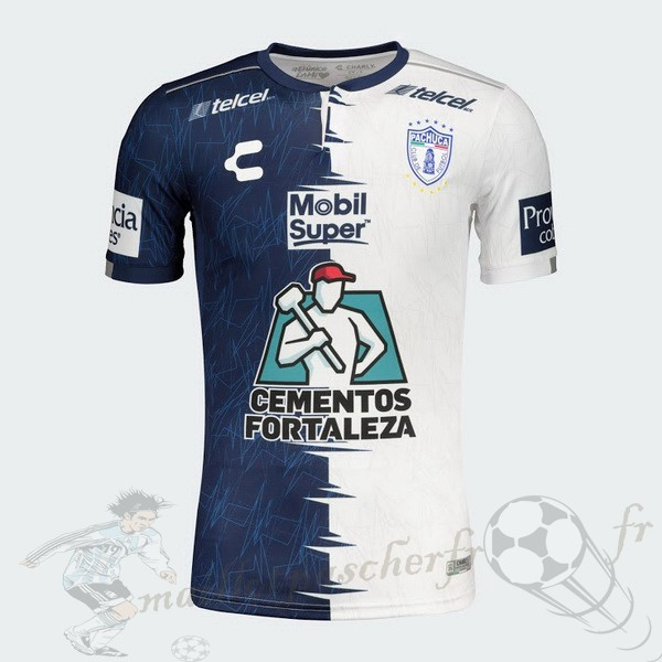 Equipement Maillot Foot Tenis Charly Domicile Maillot Pachuca 2019 2020 Bleu Blanc