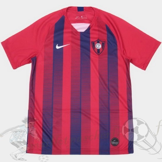 Equipement Maillot Foot Nike Domicile Maillot Cerro Porteño 2018 2019 Rouge