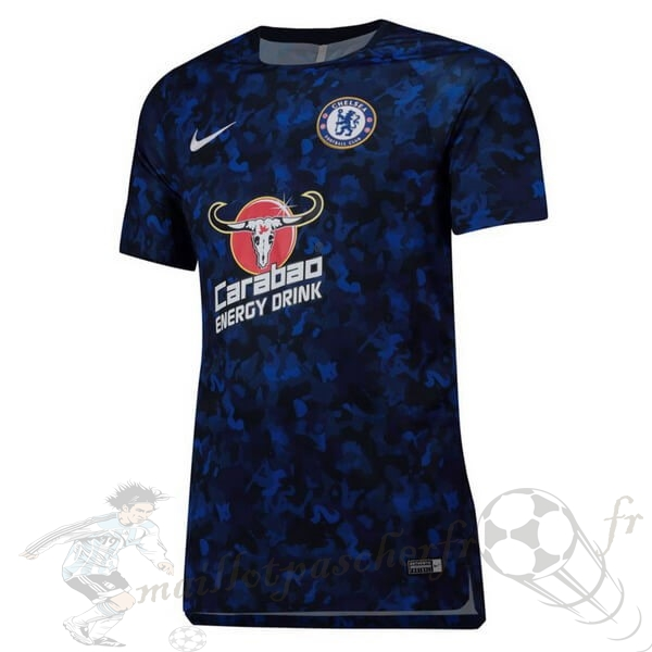 Equipement Maillot Foot Nike Entrainement Chelsea 2019 2020 Bleu Marine