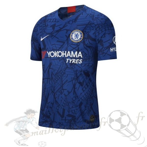 Equipement Maillot Foot Nike Domicile Maillot Chelsea 2019 2020 Bleu