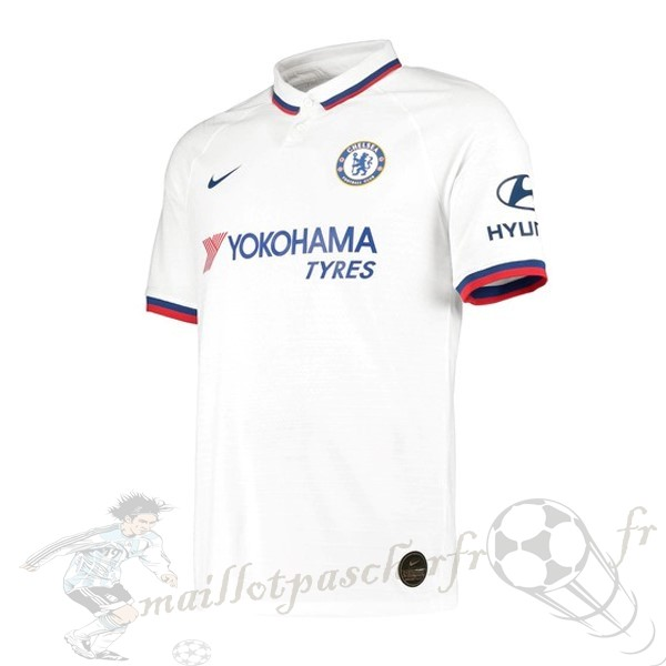 Equipement Maillot Foot Nike Exterieur Maillot Chelsea 2019 2020 Blanc