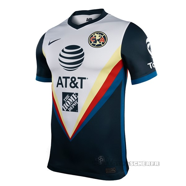 Equipement Maillot Foot Nike Domicile Maillot Club América 2020 2021 Gris