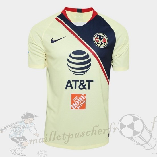 Equipement Maillot Foot Nike Domicile Maillot Club América 2018 2019 Jaune