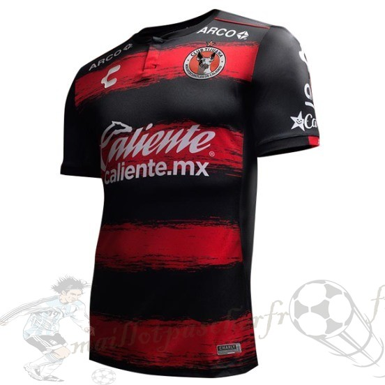 Equipement Maillot Foot Tenis Charly Domicile Maillot Tijuana 2018 2019 Rouge