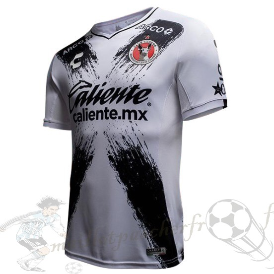 Equipement Maillot Foot Tenis Charly Exterieur Maillot Tijuana 2018 2019 Blanc