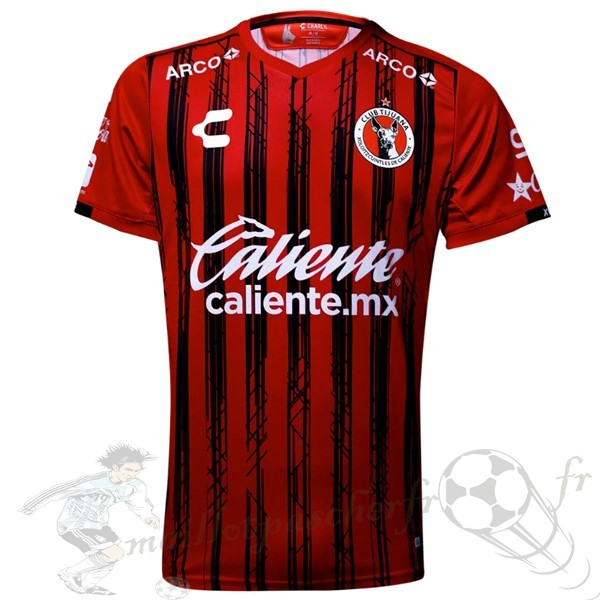Equipement Maillot Foot Tenis Charly Domicile Maillot Tijuana 2019 2020 Rouge