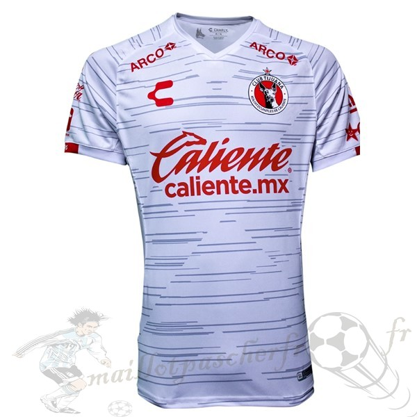 Equipement Maillot Foot Tenis Charly Exterieur Maillot Tijuana 2019 2020 Blanc