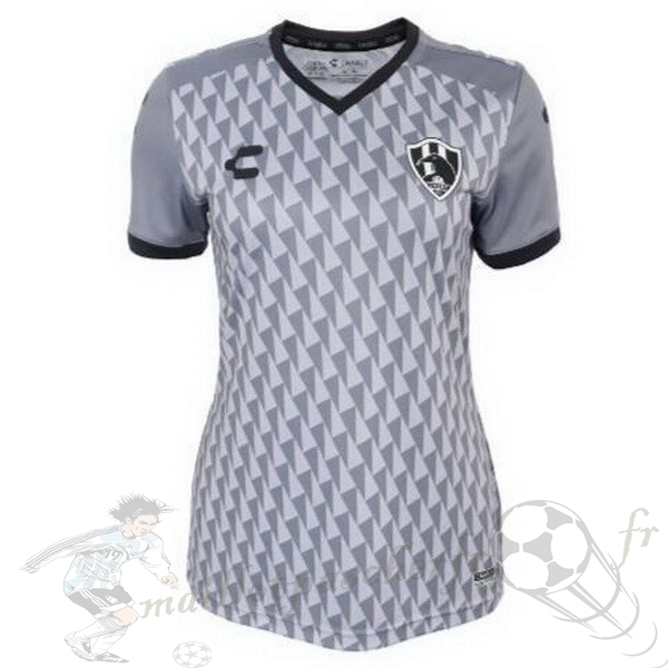 Equipement Maillot Foot Tenis Charly Third Maillot Femme Cuervos 2019 2020 Gris