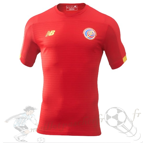 Equipement Maillot Foot New Balance Domicile Maillot Costa Rica 2019 Rouge