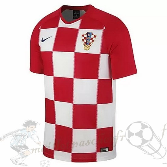 Equipement Maillot Foot Nike Domicile Maillot Croatie 2018 Rouge