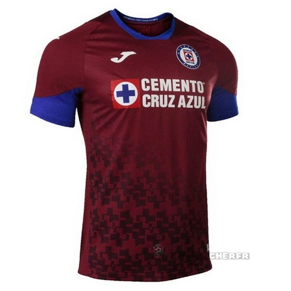 Equipement Maillot Foot Joma Third Maillot Cruz Azul 2020 2021 Rouge