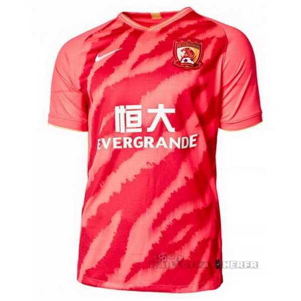 Equipement Maillot Foot Nike Domicile Maillot Evergrande 2020 2021 Rouge