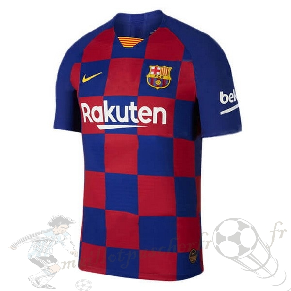 Equipement Maillot Foot Nike Domicile Maillot Barcelona 2019 2020 Bleu Rouge