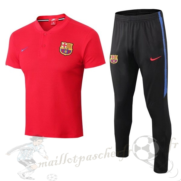 Equipement Maillot Foot Nike Conjunto Completo Polo Barcelona 2018 2019 Rouge