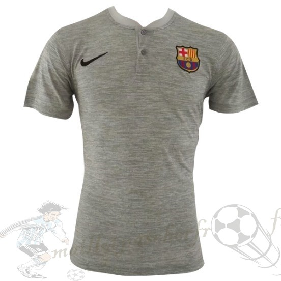 Equipement Maillot Foot Nike Polo Barcelona 2018 2019 Gris