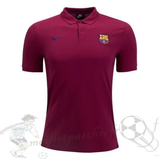 Equipement Maillot Foot Nike Polo Barcelona 2018 2019 Rouge