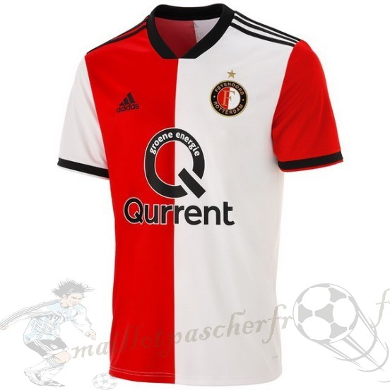 Equipement Maillot Foot Adidas Domicile Maillot Feyenoord Rotterdam 2018 2019 Rouge