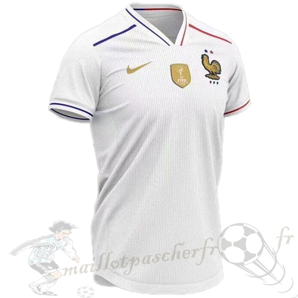 Equipement Maillot Foot Nike Concept Maillot France 2019 Blanc