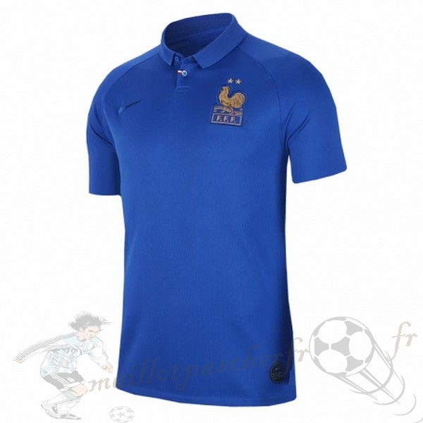 Equipement Maillot Foot Nike Maillot Femme France 100th Bleu
