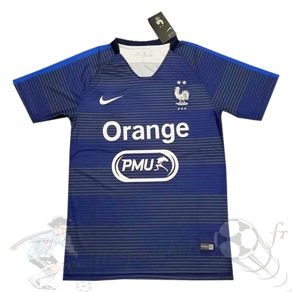 Equipement Maillot Foot Nike Entrainement France 2019 Bleu